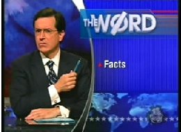 Colbert-factiness