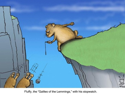 galileo of the lemmings